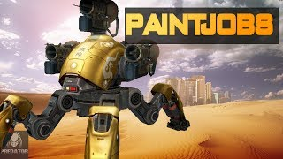 TEST SERVER 2.9 | NEW PAINTJOBS ON BEACON RUSH | War Robots