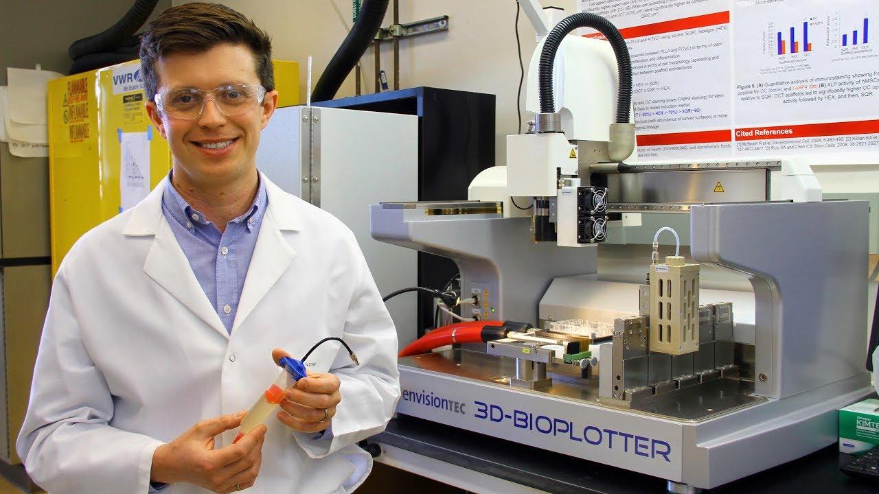 3D-Bioplotter | Rutgers University