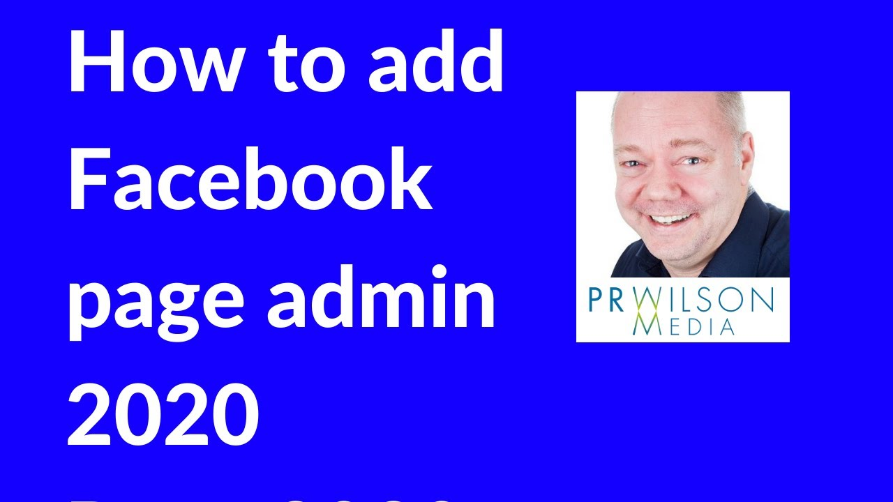 How to add Facebook page admin 2020 - YouTube