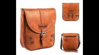 Hill&Burry модель 3100 - крутая кожаная мужская сумка из Италии. Видео обзор от 7bags.