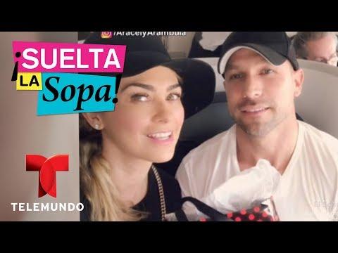 Aracely Arámbula aclara romance con Rafael Amaya  Suelta La Sopa  Entretenimiento