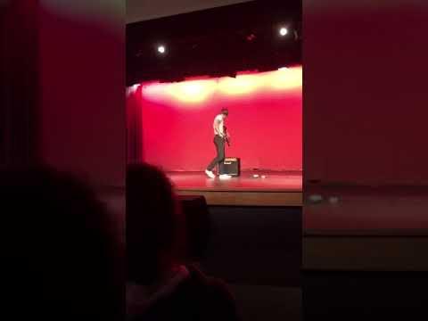 Paulding County High School Talent show 2019 Eruption Solo 1st place