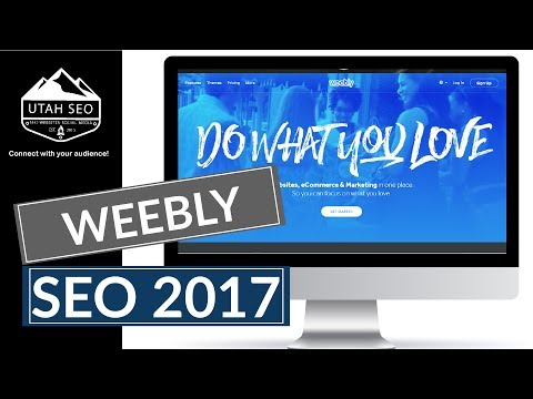 Weebly SEO Tutorial 2017