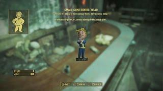 fallout 4 small guns bobblehead skill book location