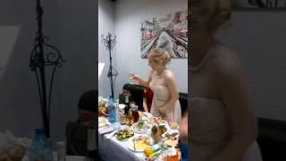 Благодарность моим замечательным гостям на моём юбилее)