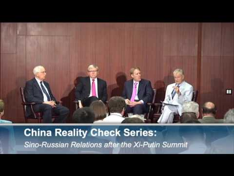 China Reality Check Series: Sino-Russian Relations after the Xi-Putin Summit