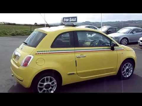 Fiat 500 1.2 Pop Yellow With Italian Stripes For Sale