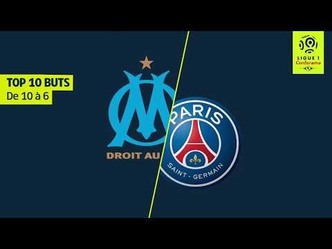 Top 10 buts OM/PSG - 10 saisons de Classique [de 10 à 6]