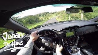2017 Toyota GT86 200 hp POV test drive