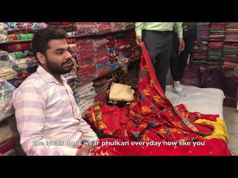 The Art Of Phulkari- Patiala