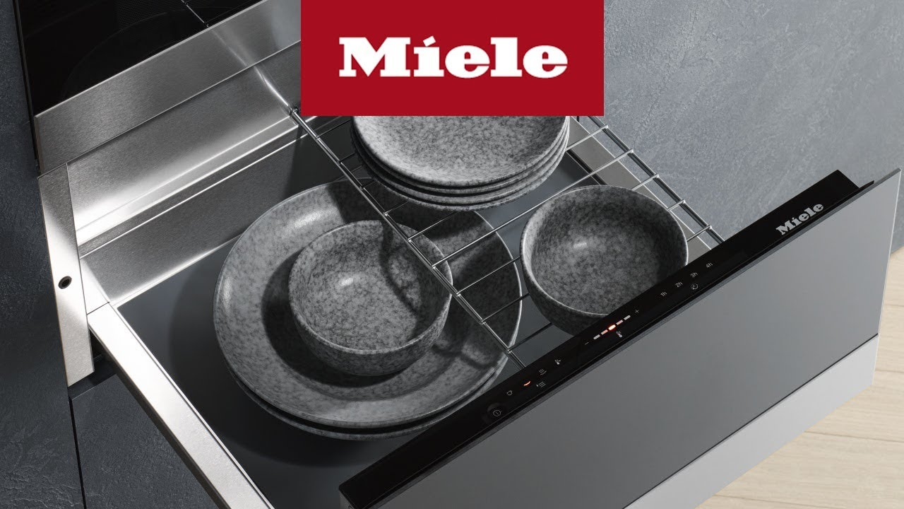 Warmeschublade Miele Youtube