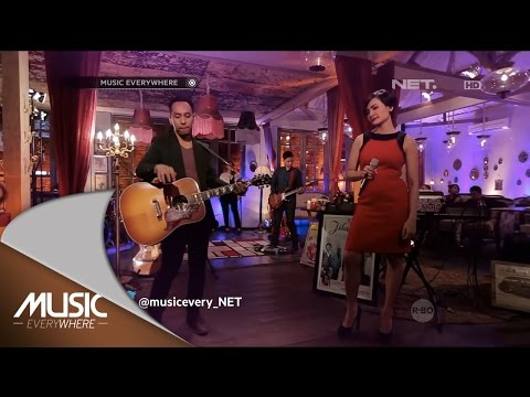 Pongki Barata ft Lea Simanjuntak - Menangis Semalam (Live at Music Everywhere) *