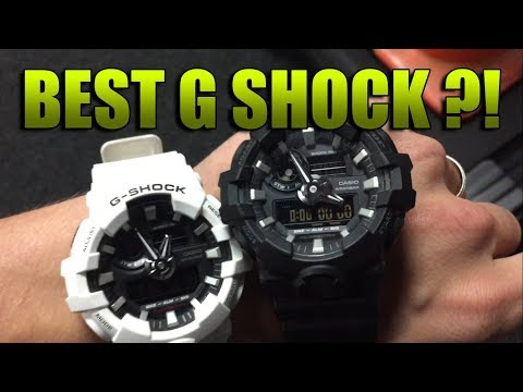 - Casio G Shock GA-700 - The BEST G Shock?! Black and White Review!