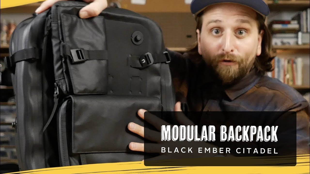 609f4aa8a22e Black Ember Citadel   Modular Backpack Review - YouTube
