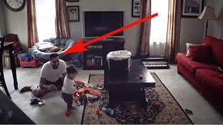 Versteckte Kamera erfasst, was dieser Vater mit seinem Sohn macht,wenn seine Frau nicht da ist!