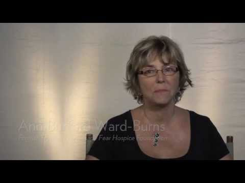Ann Burford Ward-Burns shares her Lower Cape Fear Hospice story