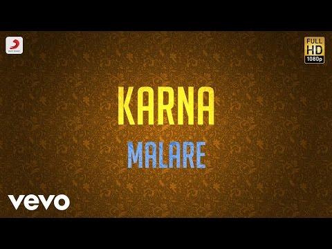 Karna - Malare Lyric | Arjun, Ranjitha | Vidyasagar