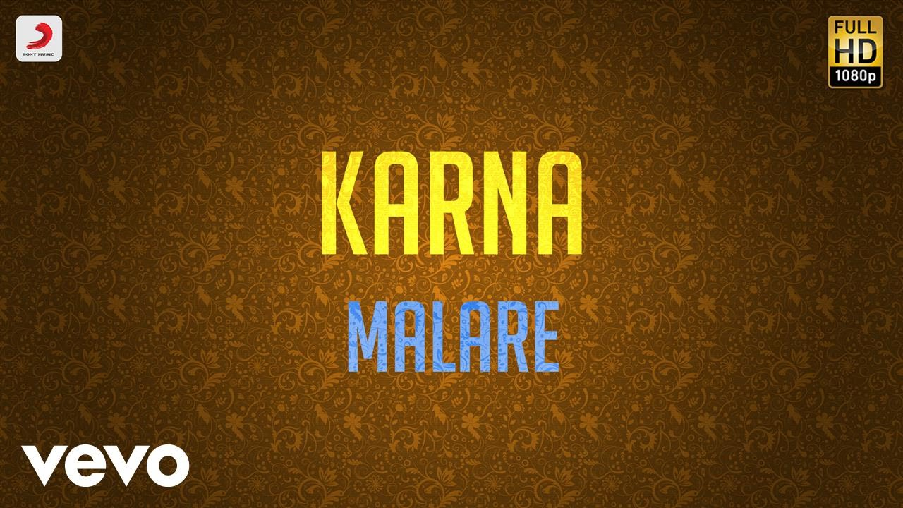 Download Karna - Malare Lyric | Arjun, Ranjitha | Vidyasagar