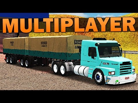 Grand Truck Simulator Multiplayer - COMBOIO + SCANIA MODIFICADA