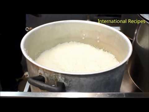 Arabian Recipe - How To Cook White Rice