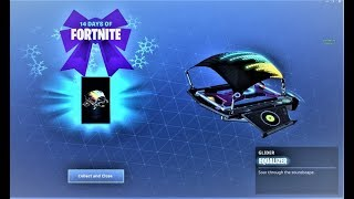 REACTING to *NEW* EQUALIZER GLIDER in FORTNITE! NEW DJ GLIDER! (Free Equalizer Glider in Fortnite)