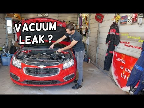WHAT IS VACUUM LEAK DEMONSTRATED ON CHEVROLET CRUZE CHEVY SONIC