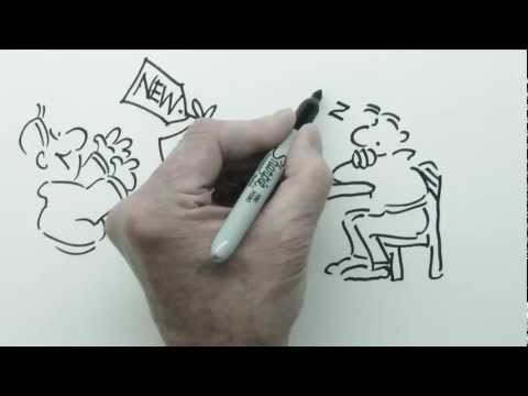 Speed Draw Cartoon Presentations for Business