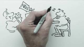 Speed Draw Cartoon-Präsentationen für Business