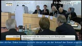 Heiner Geißler &  Bahnchef Rüdiger Grube