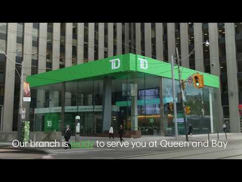 TD Queen and Bay Branch - Redesigning the Way You Bank