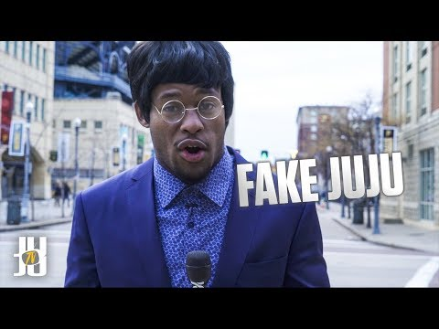 JuJu Smith-Schuster Pranks Steelers Fans - Undercover News Interview