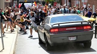 AP: One dead after car runs into Charlotte protesters!!