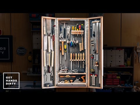 Make a Tool Cabinet // Quick and Easy style