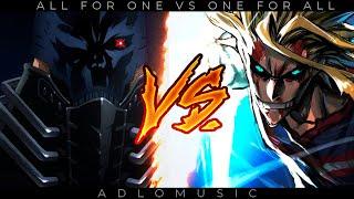 ALL FOR ONE VS. ONE FOR ALL | Boku no hero academia RAP | 2021 | AdloMusic