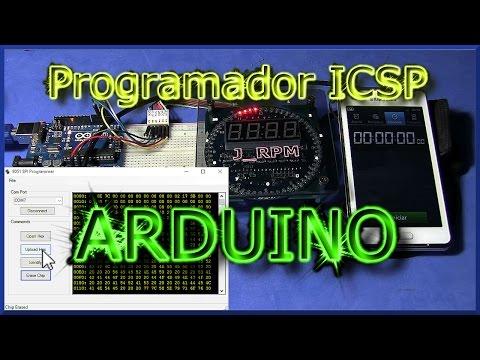 ✅ Programador ICSP Con ARDUINO | J_RPM