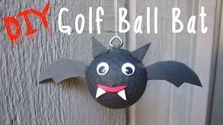 Diy Golf Ball Bat Recycling   Craft Klatch Halloween Series