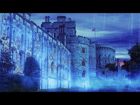 Rain Sounds for Sleep | Castle Rainstorm White Noise 10 Hours