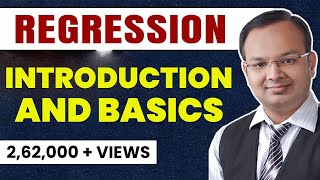 #1 | Correlation and Regression | Regression Introduction and basics