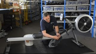 How To: Rowing Machine Maintenance
