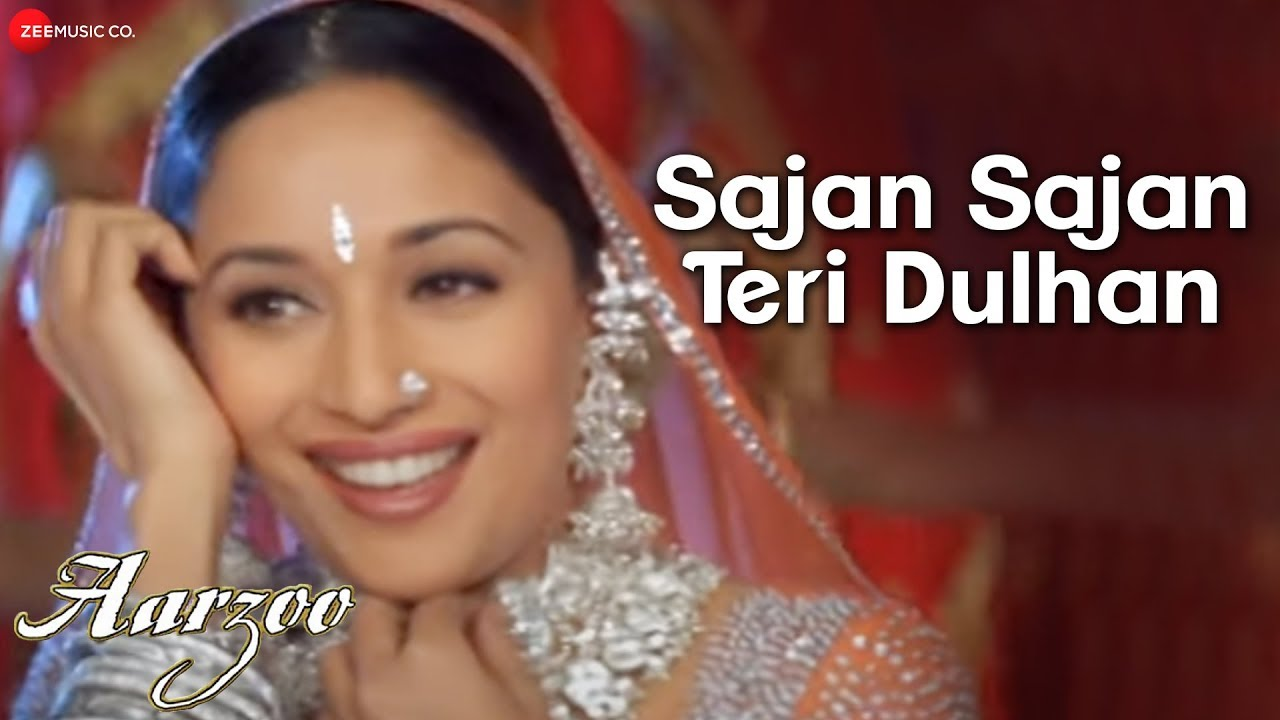 Sajan Sajan Teri Dulhan Aarzoo Akshay Kumar Madhuri Dixit Saif Ali Khan Alka Yagnik Youtube