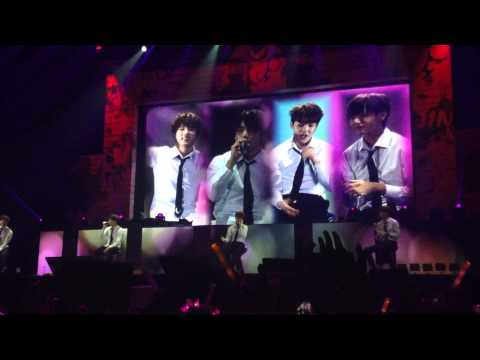 [FANCAM] 141207 BTS - Outro:Propose on The Red Bullet in Manila Episode II Trilogy