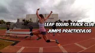 Track and Field - LEAP Squad TC Jumps Practice