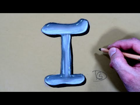 how-to-draw-a-letter-i-in-water-with-dry-pastel-pencils