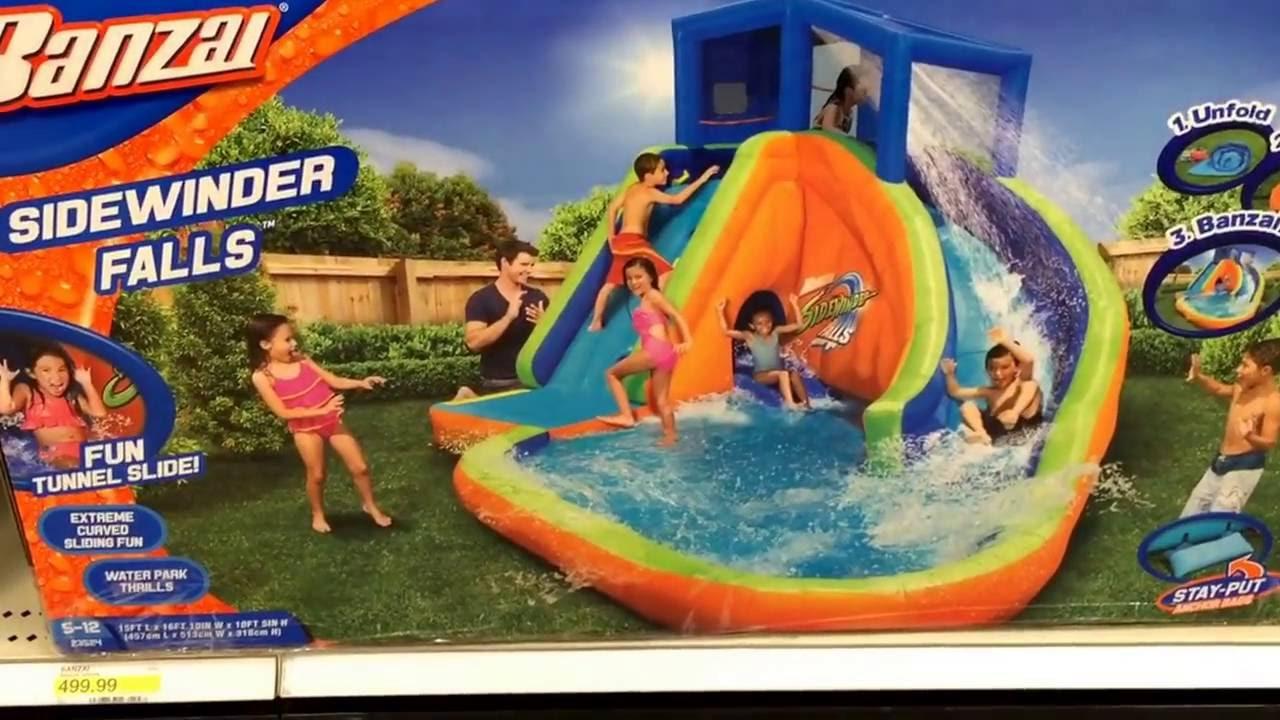 Usa Super Target Garden Fun Kids Pool And Splash Range Youtube