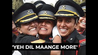 When will women step into military schools and NDA?
