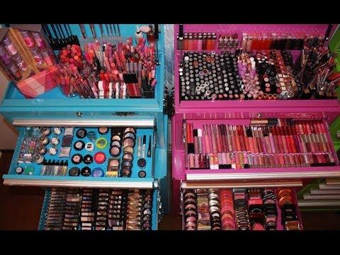 Makeup Collection, Organization, & Storage 2014 Pt.1