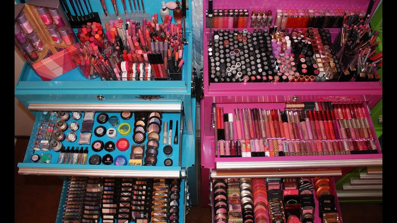Makeup Collection Organization Storage