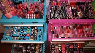 Makeup Collection, Organization, & Storage 2014 Pt.1