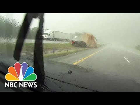 Storm Chasers Narrowly Escape As Deadly Tornado Hits Oklahoma | NBC News