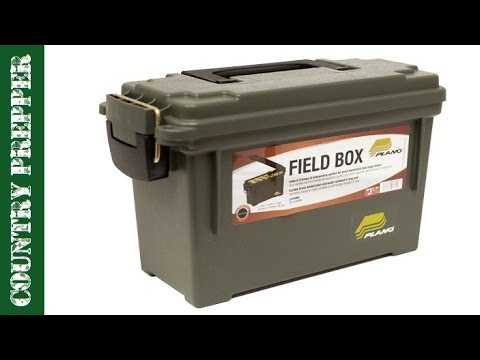 Ammo Box Survival Kit For Your Car Or Truck